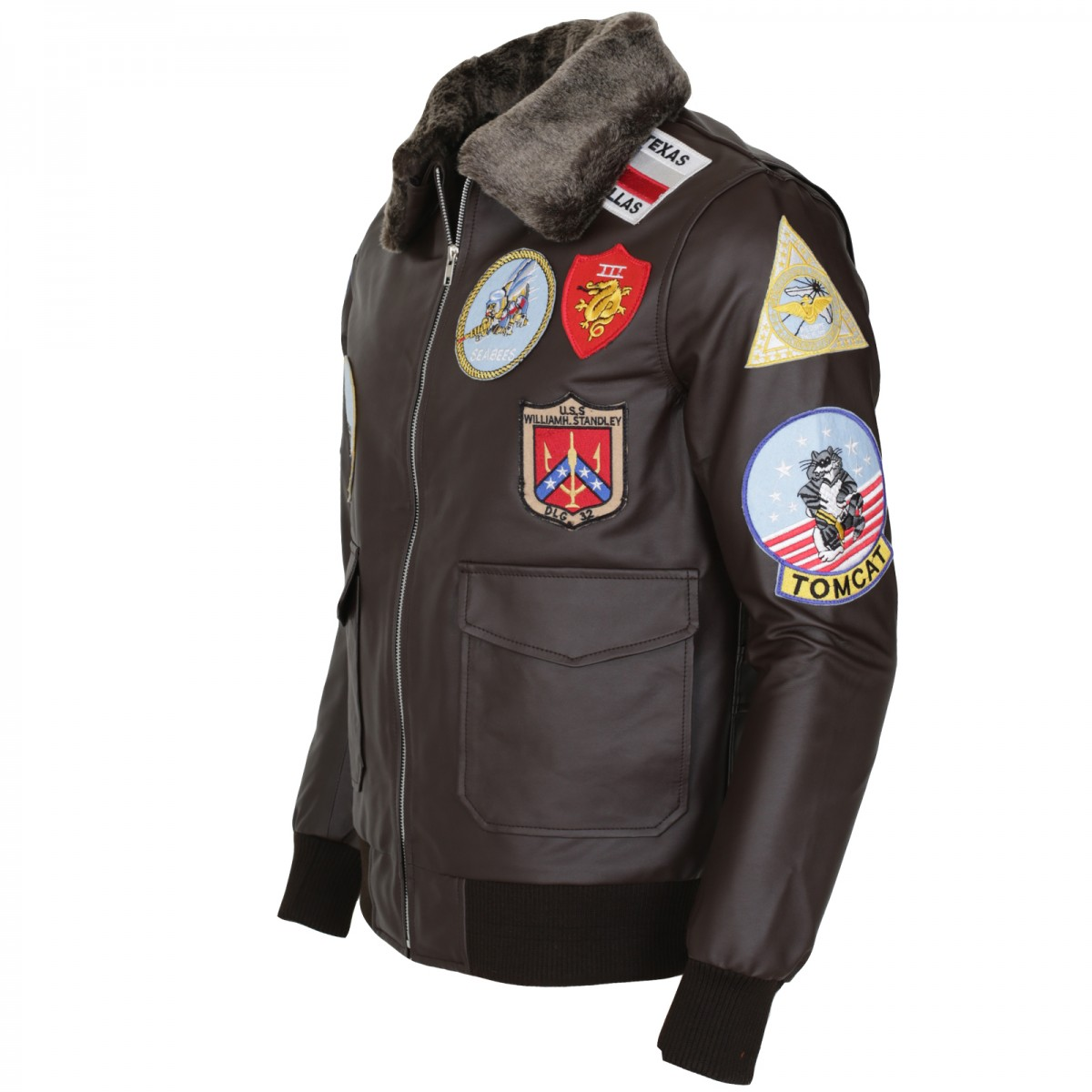 Top Gun Leather Bomber Jacket | Buy Top Gun Leather Jacket ...
